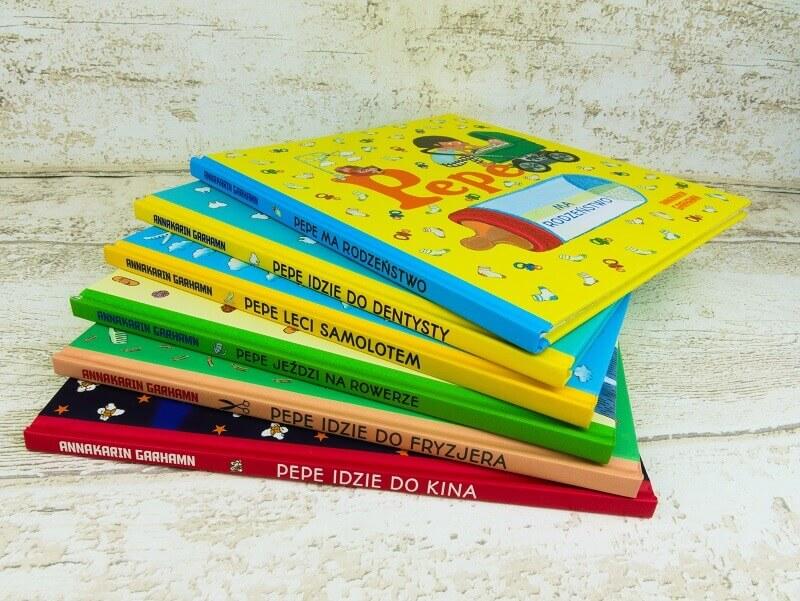 Seria książeczek z Pepe - oswój swoje dziecko z lękiem